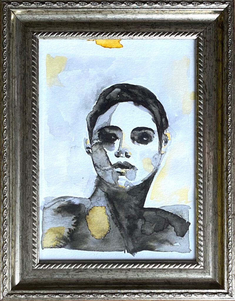 Aquarel Woman Gold